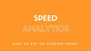 eCommerce Speed Analytics Dashboards