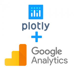 google analytics plotly