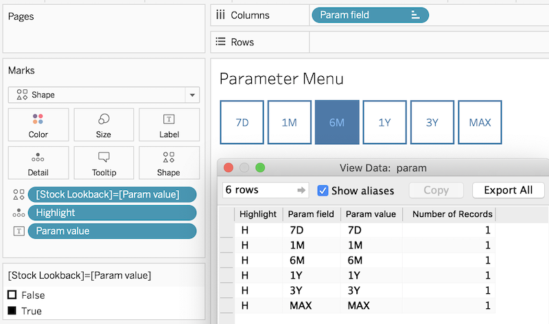 Parameter Actions & Toggle Containers: New levels of Tableau